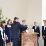 Erinnerung an die Taufe.