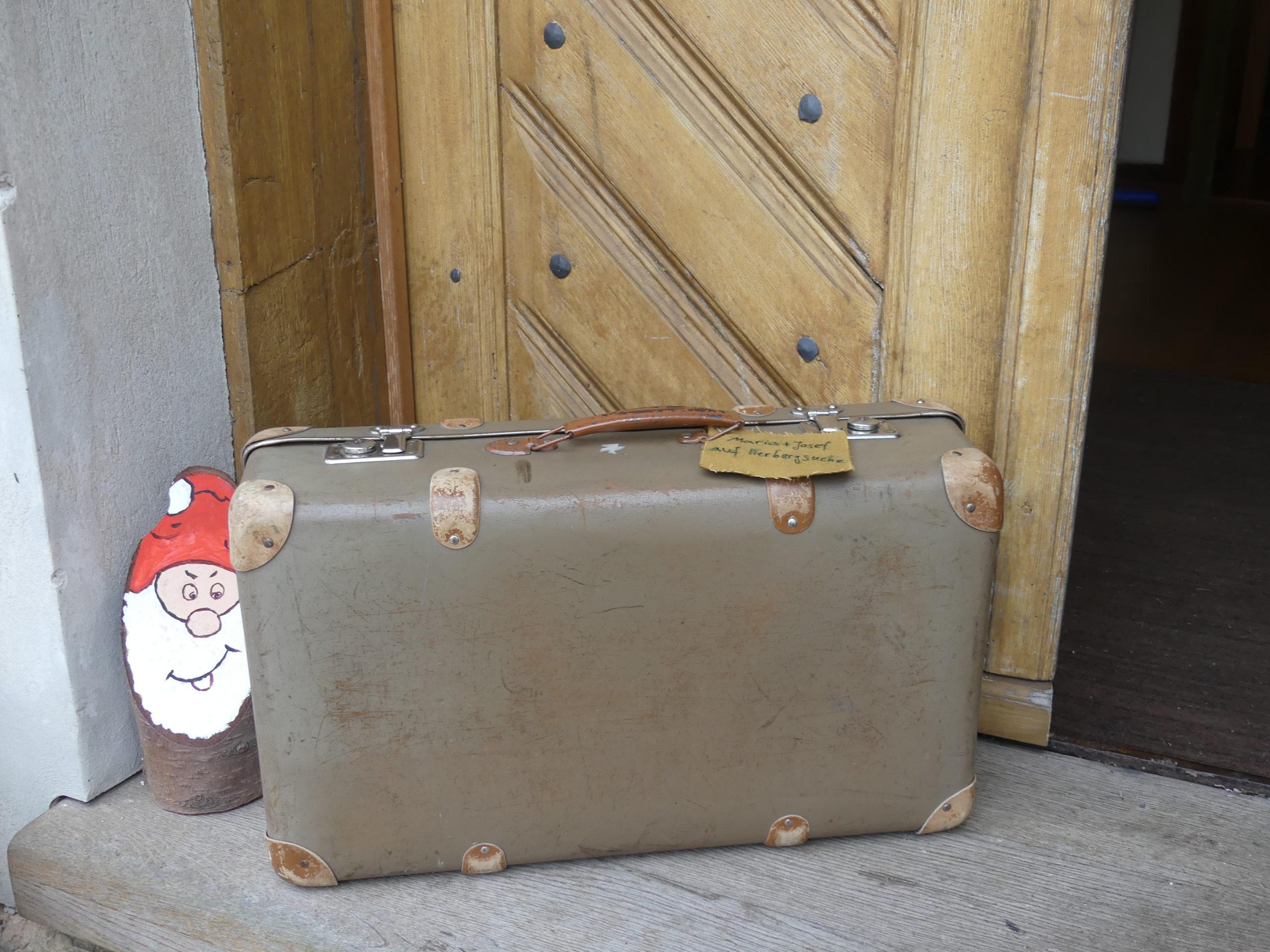 Maria & Josef im Koffer