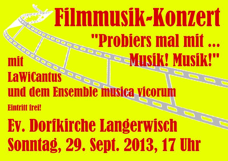 Plakat-Filmmusikkonzert